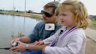 Fishing with your kids video