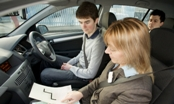 Independent driving section of the test